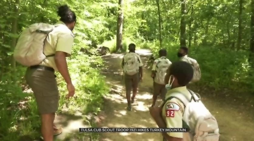 Tulsa Cub Scout Troop Hits The Trails At Turkey Mountain