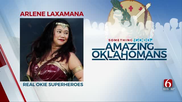 Amazing Oklahoman: Arlene Laxamana Sparks Superhero Happiness