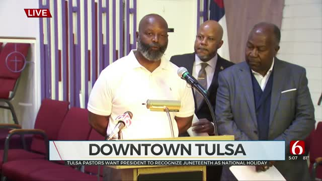 Tulsa Pastors Want President To Recognize Juneteenth As National Holiday