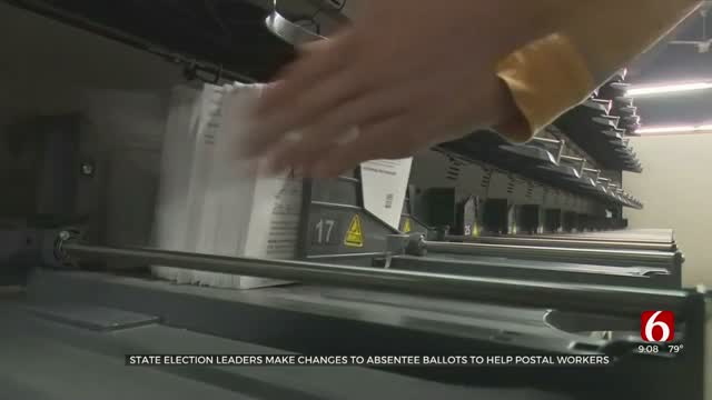 State Election Leaders Make Absentee Ballot Changes To Aid Postal Workers