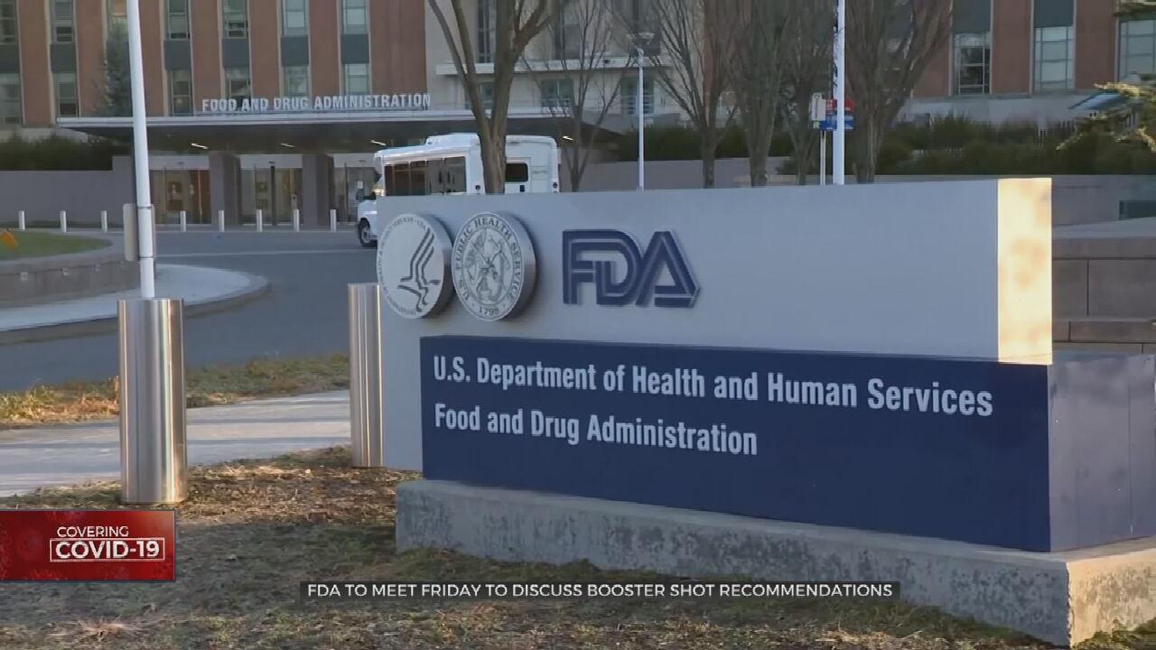 FDA Strikes Cautious Tone Ahead Of Vaccine Booster Meeting