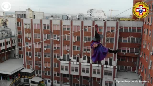 Watch: Befana The Gift-Giving Witch Visits Children At Hospital In Italy