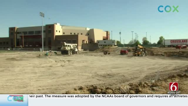 Progress Underway On Union's New Stadium