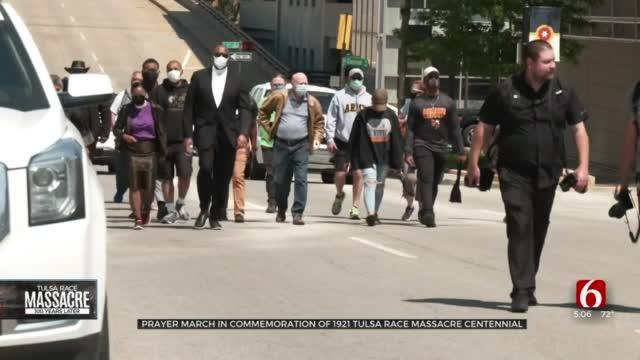 'Unity Over Violence': Prayer March Commemorates 1921 Tulsa Race Massacre