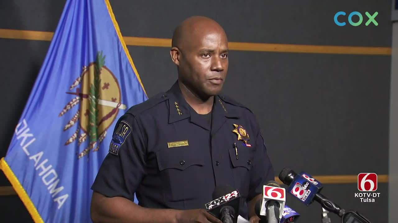 Tulsa Police Dept. & DA Hold News Conference On Missing Toddlers