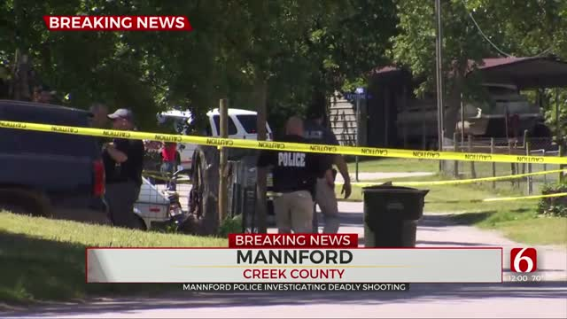 2 Dead After Triple Shooting In Mannford, Police Say