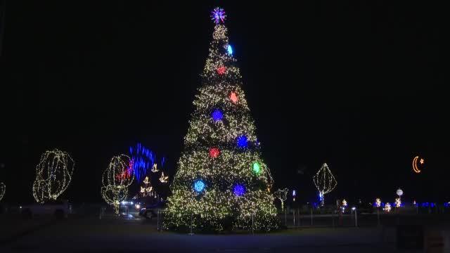 Drive-Thru Holiday Light Displays Offer Festive Alternative During COVID-19