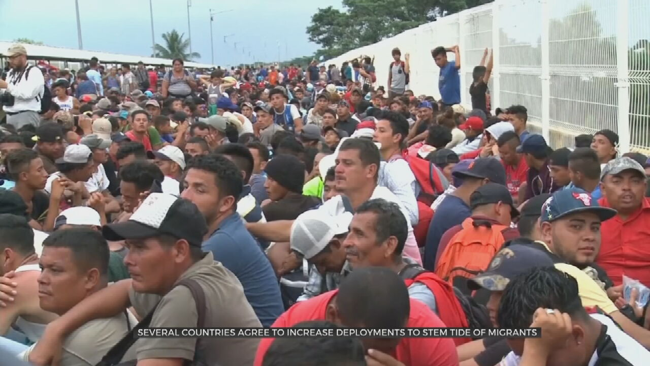 Several Countries Agree To Increase Deployments To Stem Tide Of Migrants