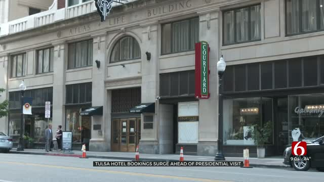 Tulsa Hotel Bookings Surge Ahead Of President Trump Visit