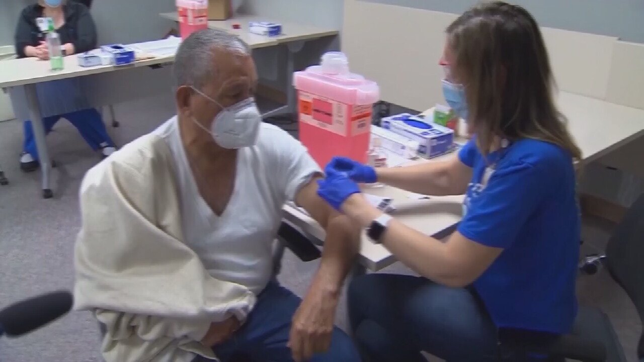 Tulsa Health Department Begins Administering Pfizer Booster Shots