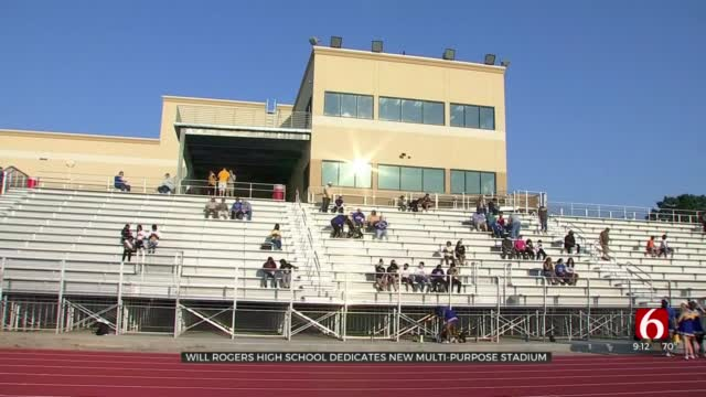 Will Rogers High School Dedicates New Multi-Purpose Stadium