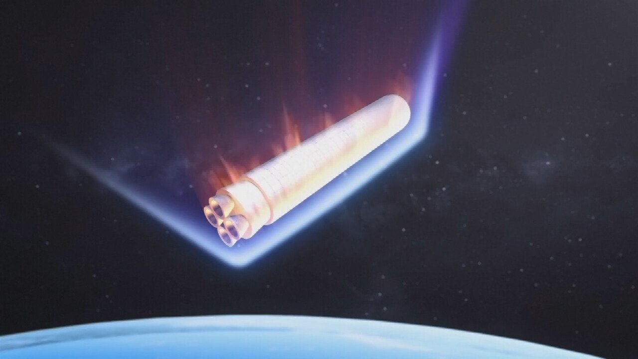 Debris From Chinese Rocket Enters Earth's Atmosphere Over Indian Ocean