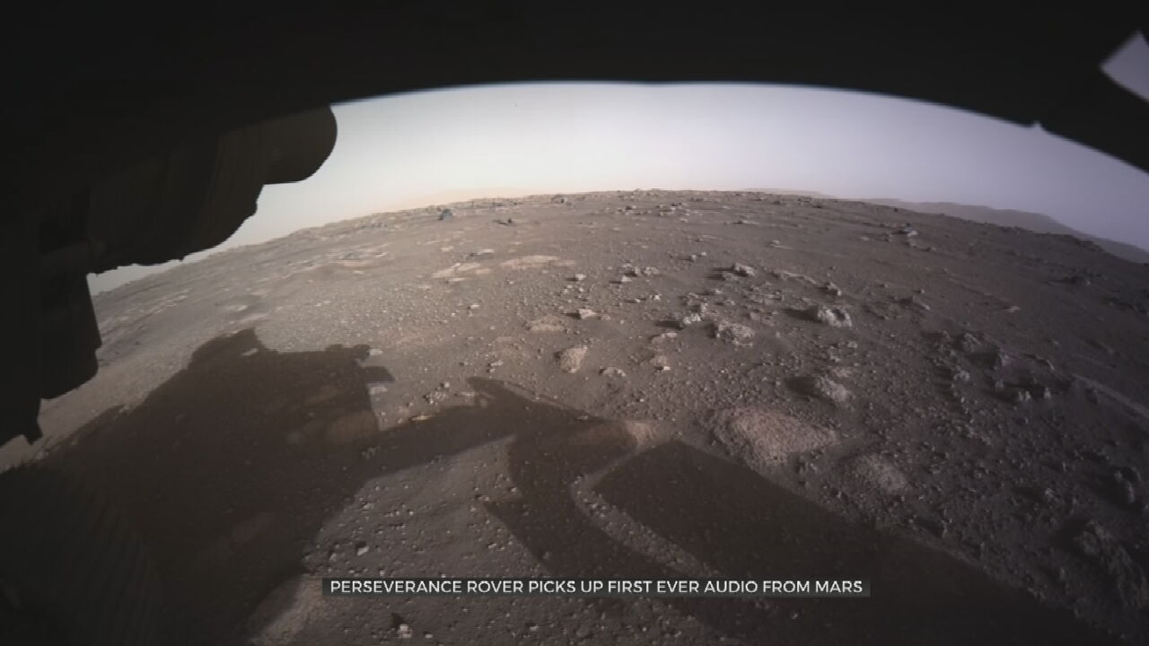 NASA's Mars Perseverance Rover Beams Back First Sounds Ever Recorded On Another Planet