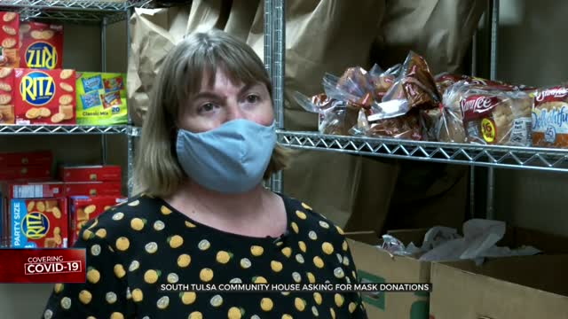 South Tulsa Community House Asking For Mask Donations