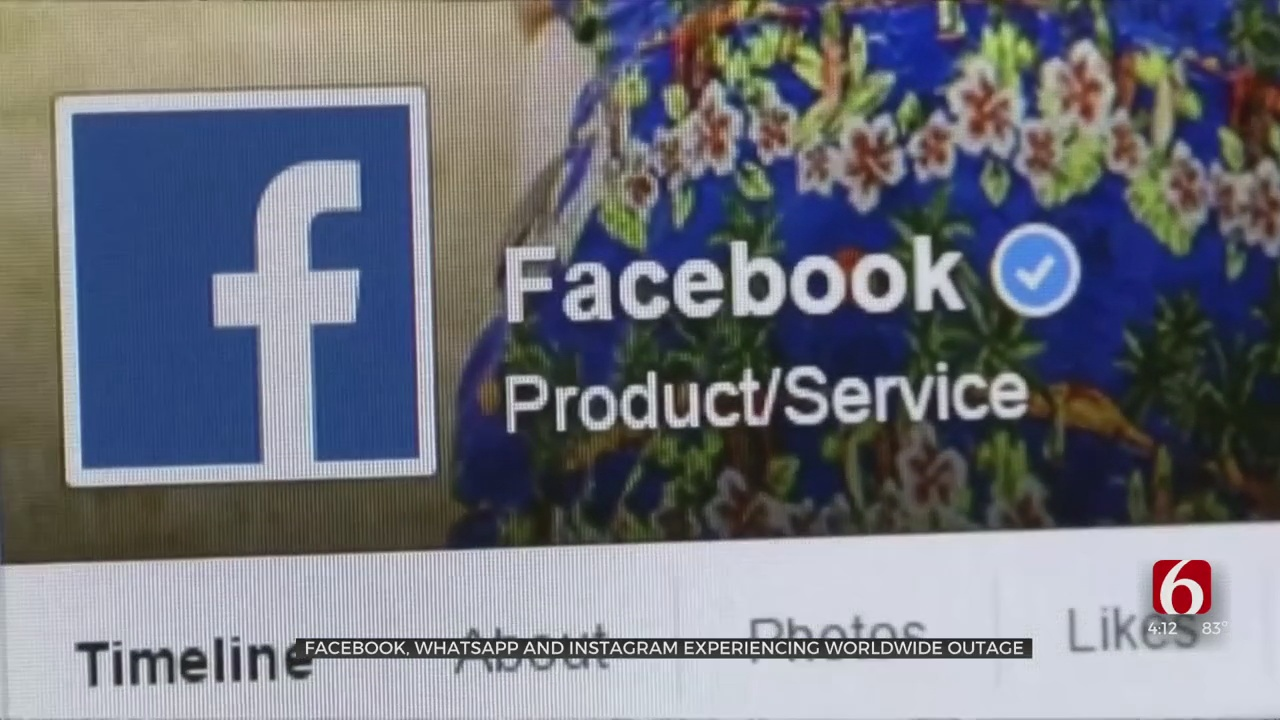Facebook, Instagram, Whatsapp Suffer Worldwide Outage