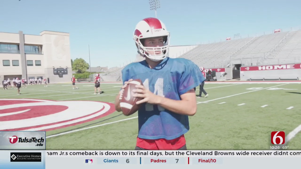 Owasso Quarterback Putting In The Work, Primed To Play At Next Level