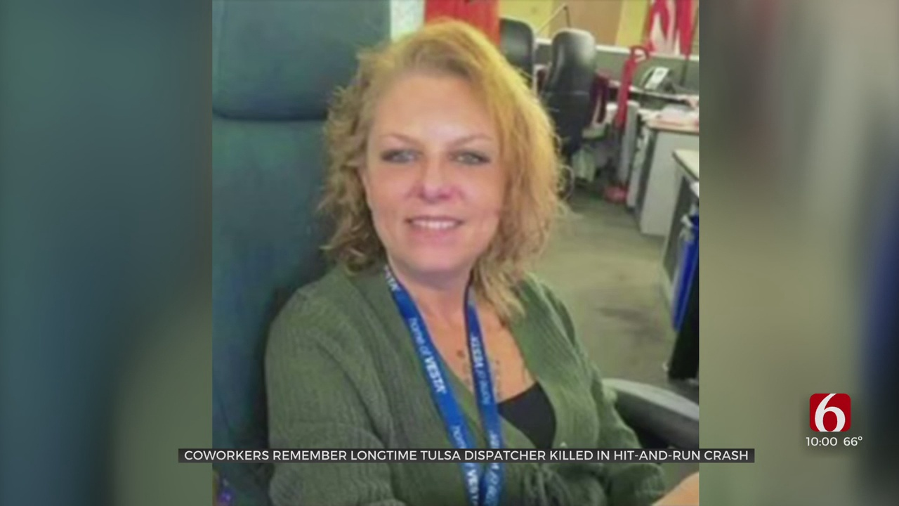 Coworkers Remember Longtime Tulsa Dispatcher Killed In Hit-And-Run Crash
