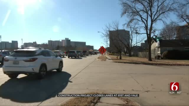 61st, Yale Intersection Construction Project To Impact Tulsa Drivers