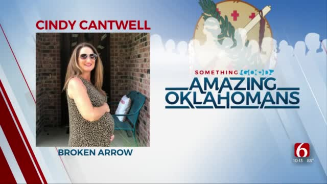 Amazing Oklahoman: Cindy Cantwell Keeps On Serving