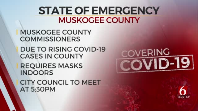 Muskogee County Commissioners Declare State Of Emergency, Issue COVID-19 Advisory