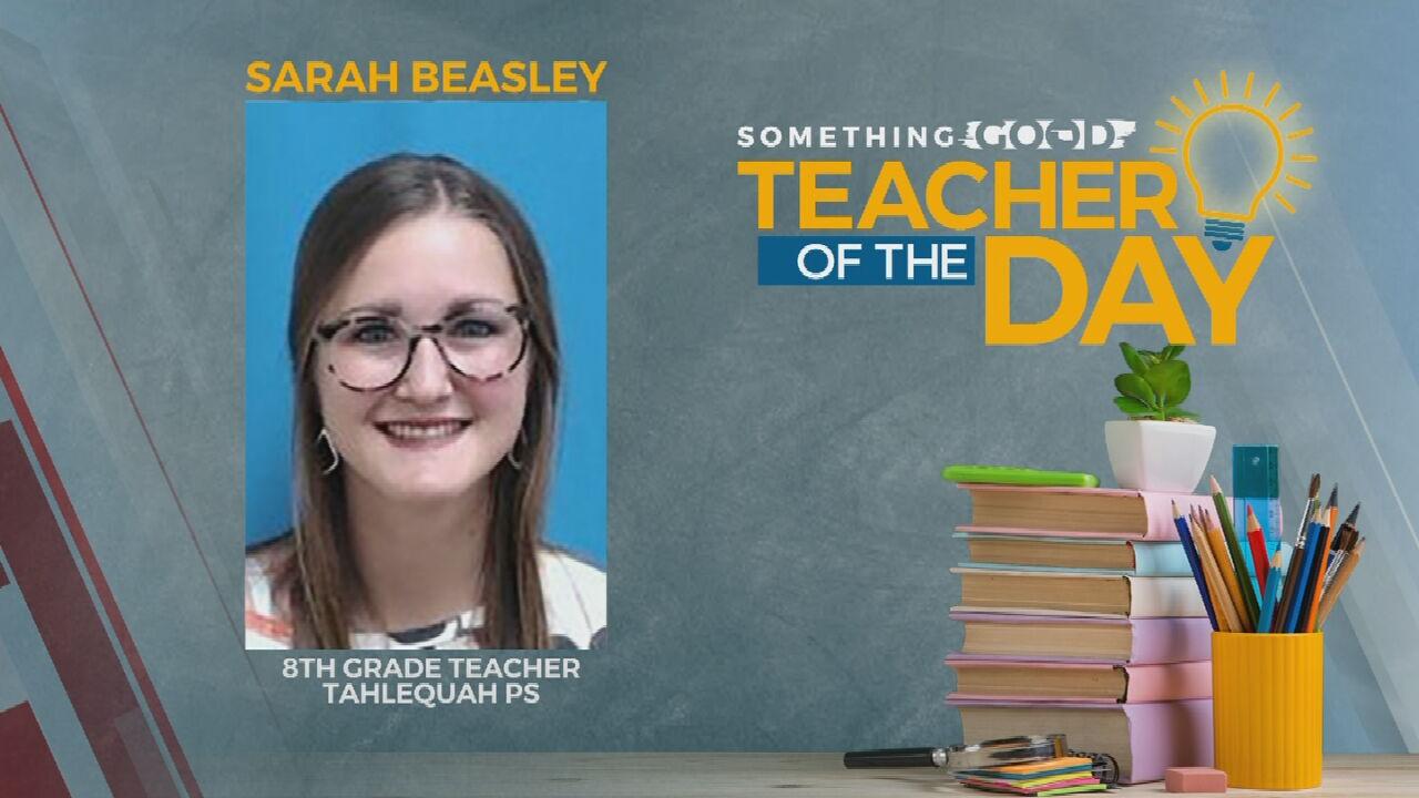 TOTD (645)Teacher Of The Day: Sarah Beasley