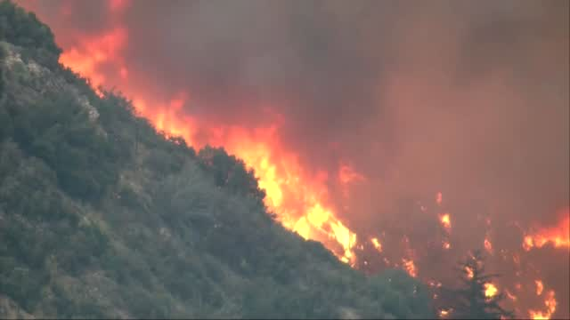Record-Smashing Heat Drags On In California As Wildfires Burn Statewide