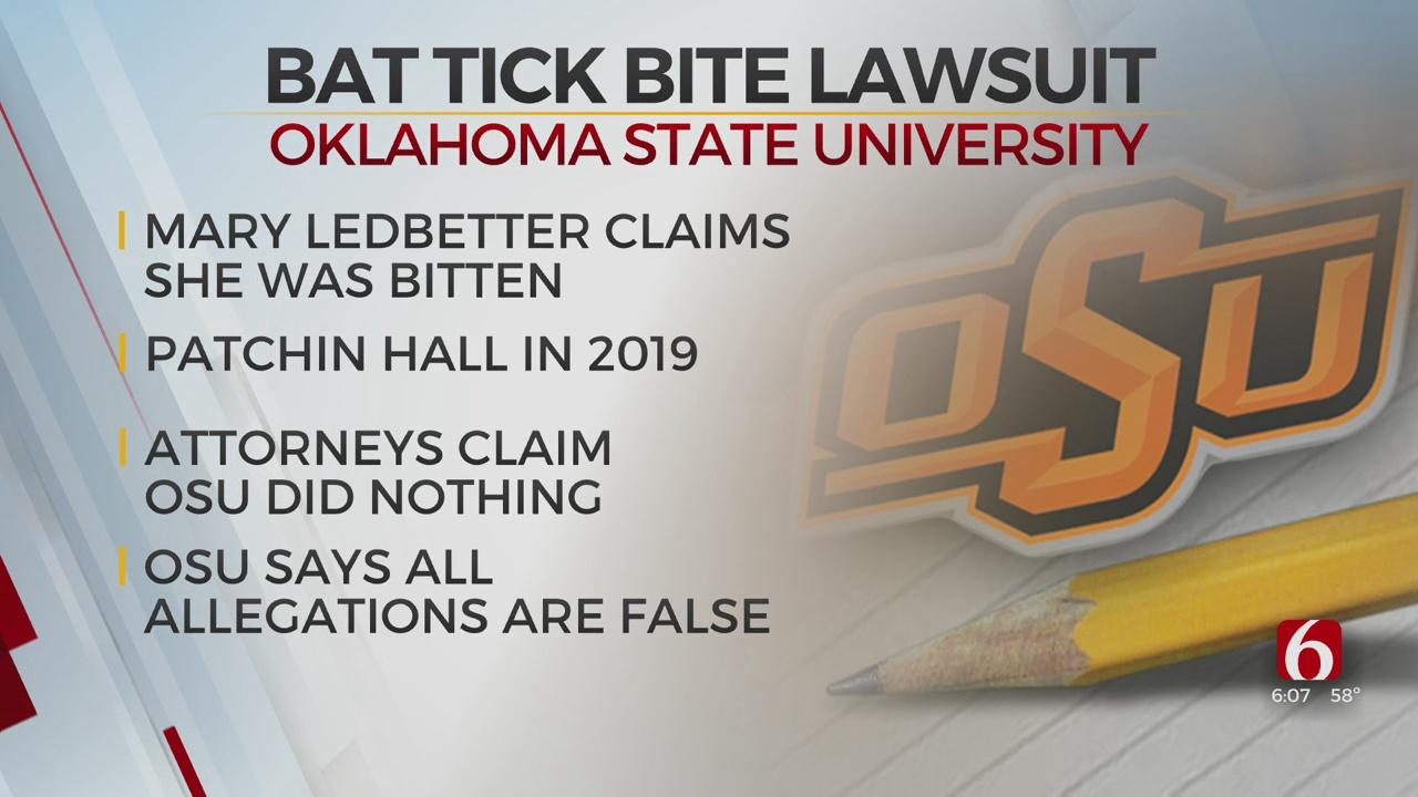 OSU Student Sues University Over Alleged Bat Tick Infestation Inside Dorm