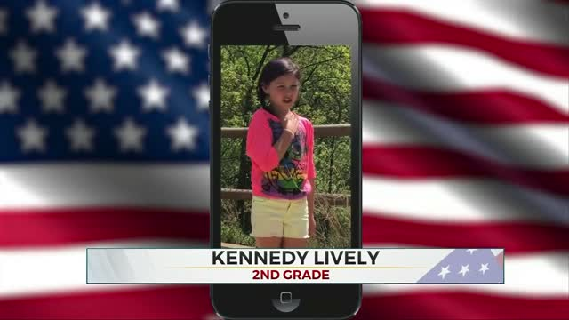 Daily Pledge: Kennedy Lively