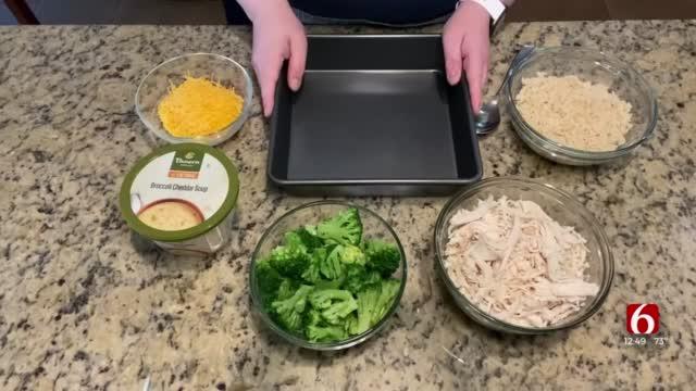 Broccoli Cheddar Chicken & Rice