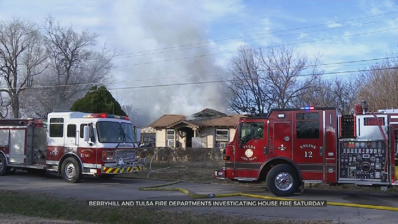 Berryhill, Tulsa Firefighters Investigate Cause Of Weekend House Fire