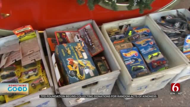 TPD Foundation Begins Collecting Toy Donations For Random Acts Of Kindness