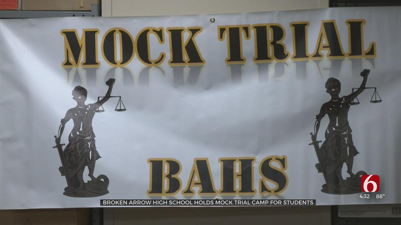 Broken Arrow High School Holds Mock Trial Camp For Students
