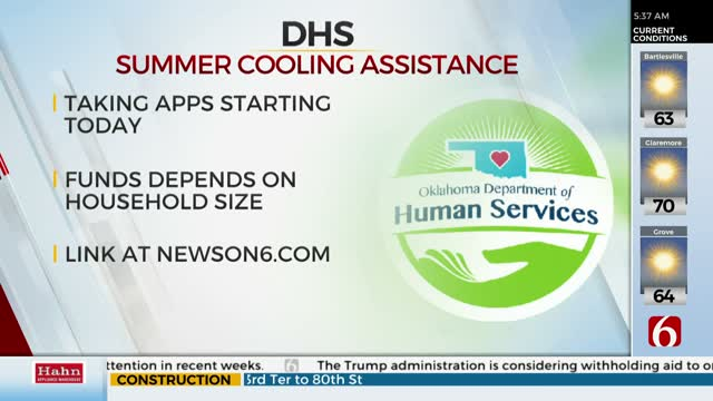 DHS Offers Home Cooling Assistance, Begins Taking Applications