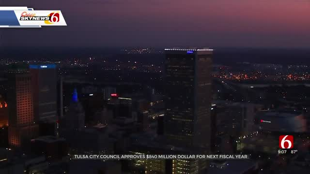Tulsa City Council Approves 2020-2021 Fiscal Year Budget