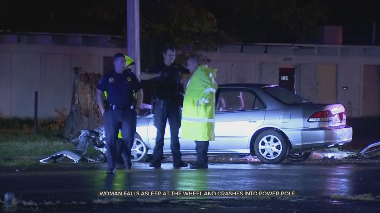 Hundreds Lose Power Overnight After Woman Crashes Into 2 Power Poles