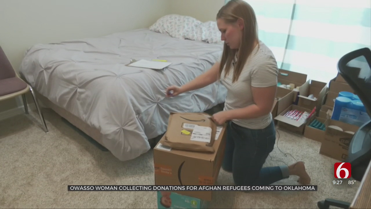 Owasso Woman Collecting Donations For Afghan Refugees Moving To Oklahoma