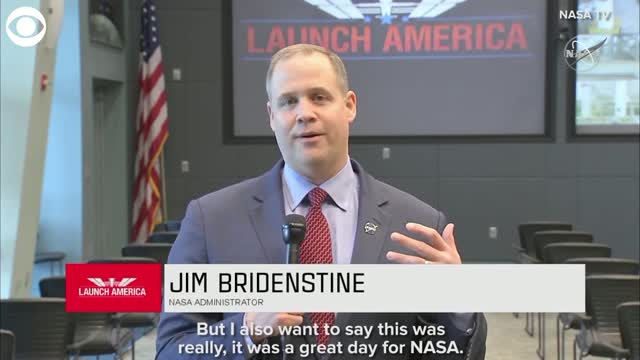WATCH: NASA Administrator Explains Why Launch Was Scrubbed