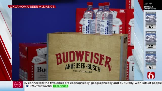 Beer Company Donates 476 Gallons Of Hand Sanitizer To Oklahoma
