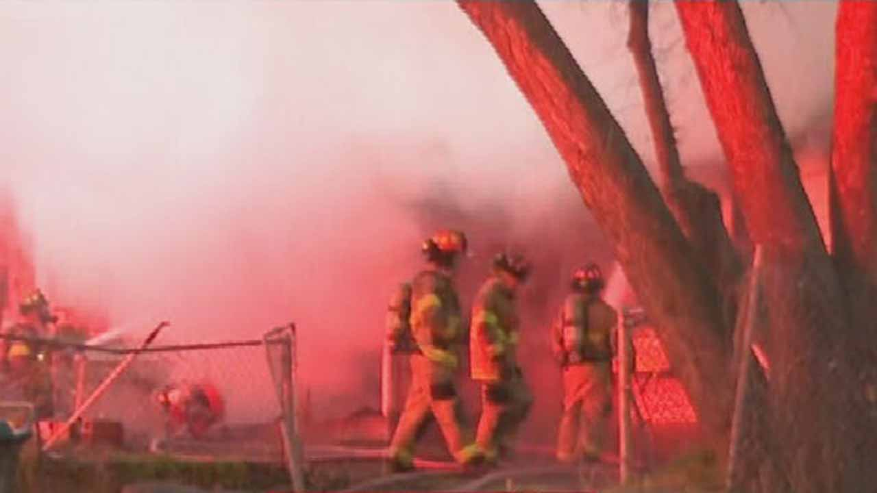 Sand Springs House Fire