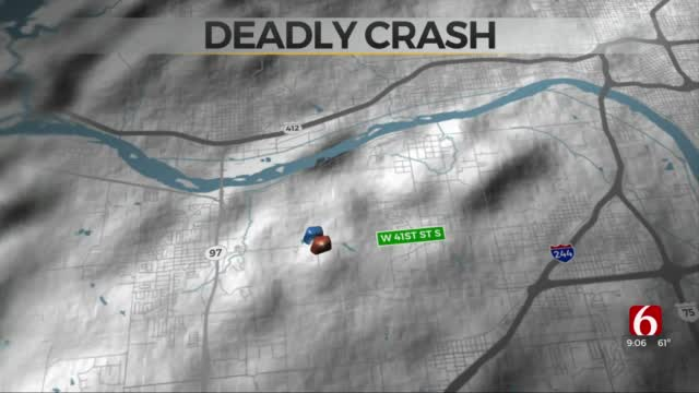 2 Dead After Collision Between Motorcycle, Car In Sand Springs
