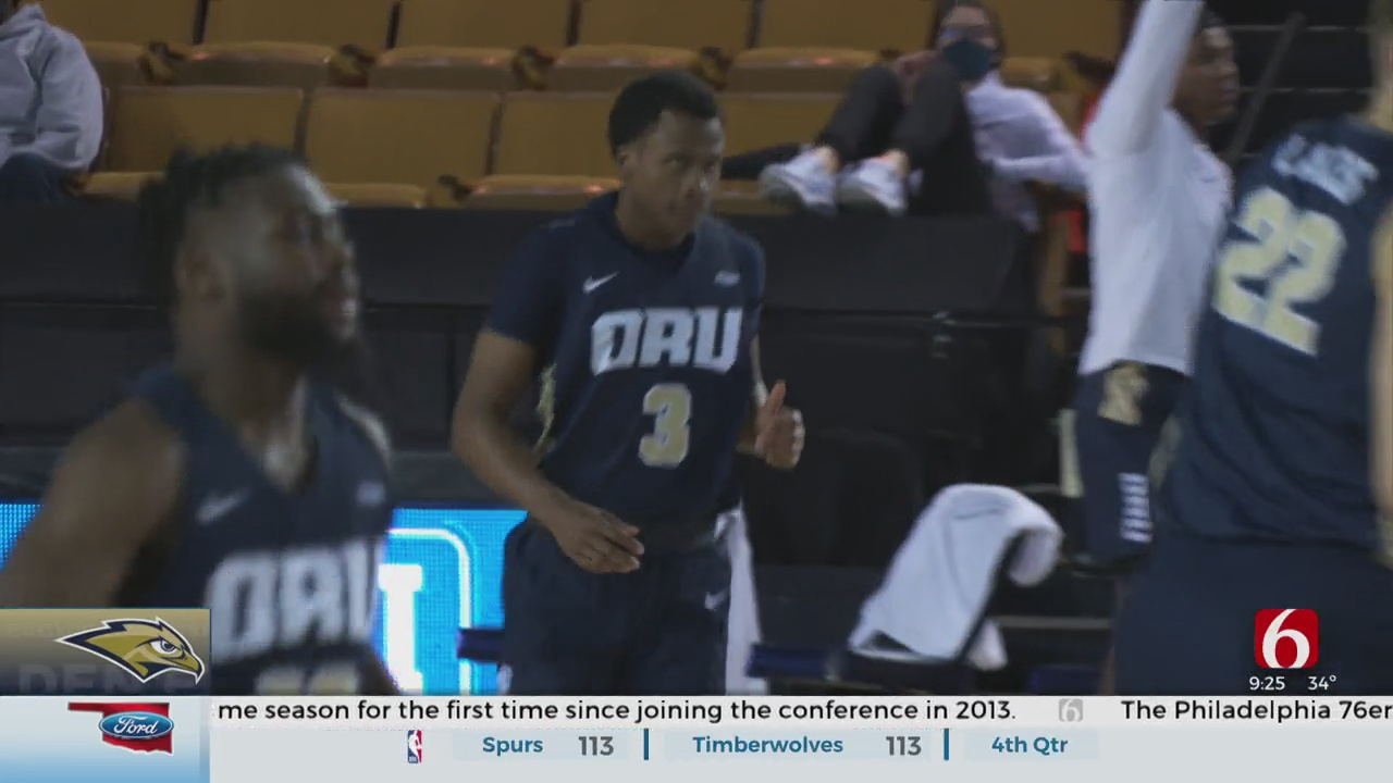 ORU Beats North Dakota 74-57