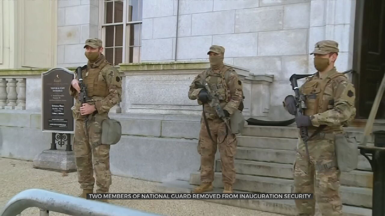 2 National Guard Members Removed From Biden Inauguration Over Possible Ties To Extremist Groups