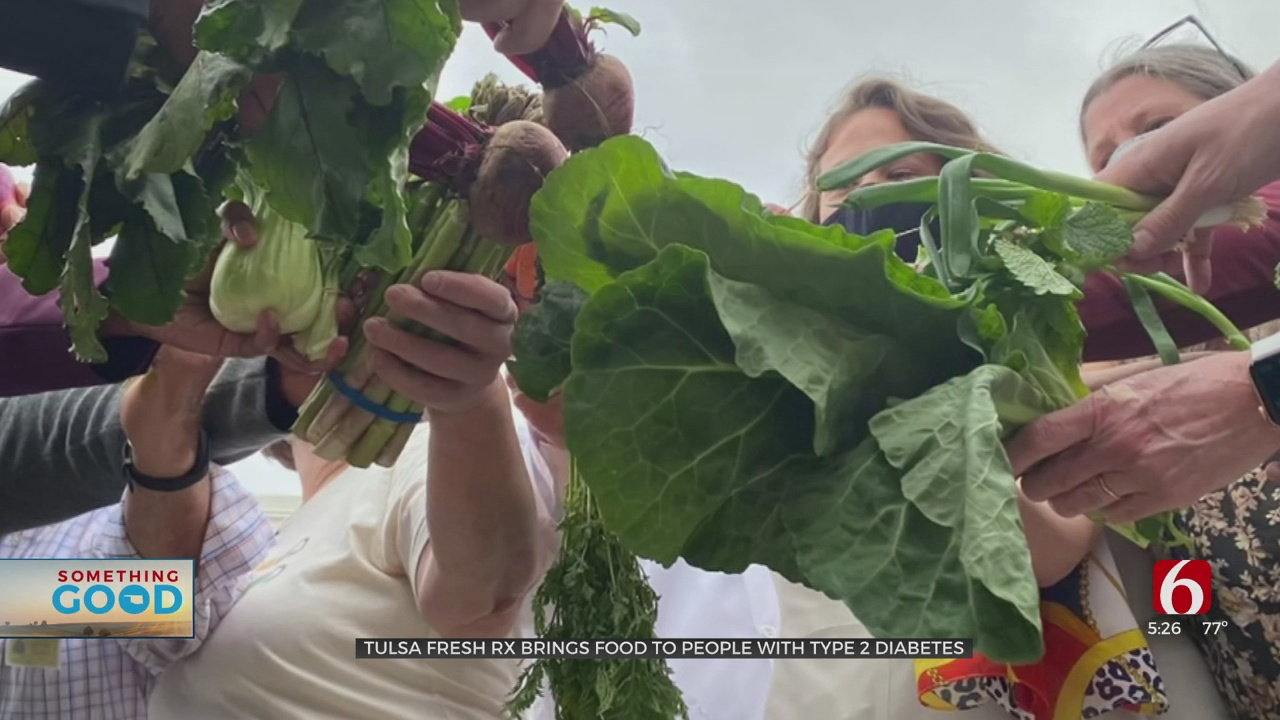 Free, Fresh & Local: New Program Serving Food, Education To Tulsans With Type 2 Diabetes