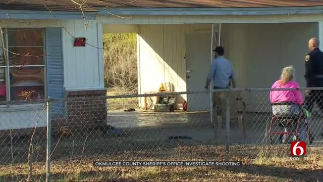Deputies Arrest Man, Searching For 2nd Suspect In Okmulgee County Shooting