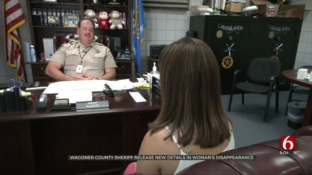 Wagoner County Sheriff Releases New Details In Woman's Disappearance Investigation
