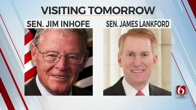 Oklahoma's U.S. Senators, Gov. Stitt To Visit Green Country On Tuesday