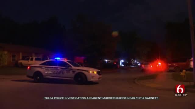 Tulsa Police Investigate After 2 Found Dead In Apparent Murder-Suicide