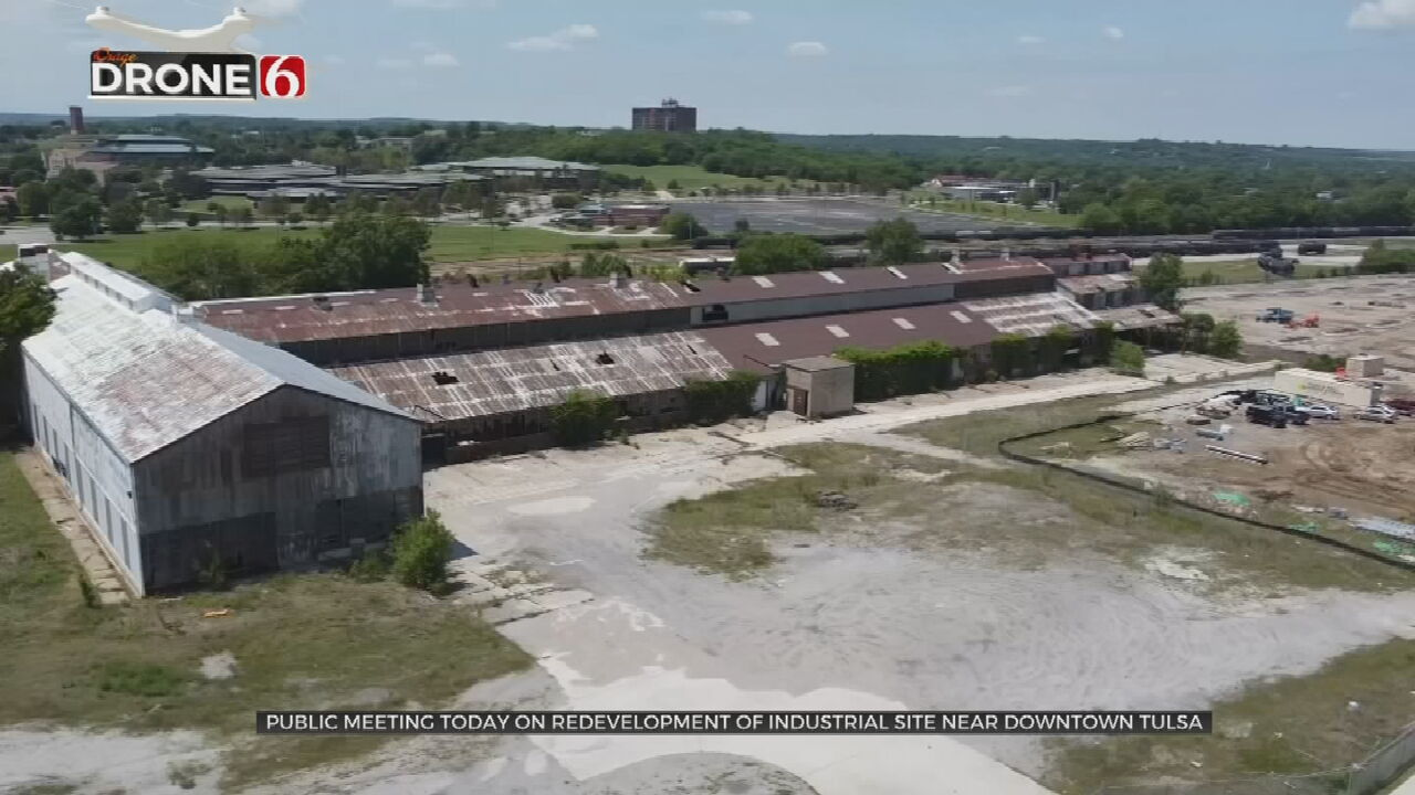 City Of Tulsa Hosting Community Meeting For Evans-Fintube Redevelopment Proposals