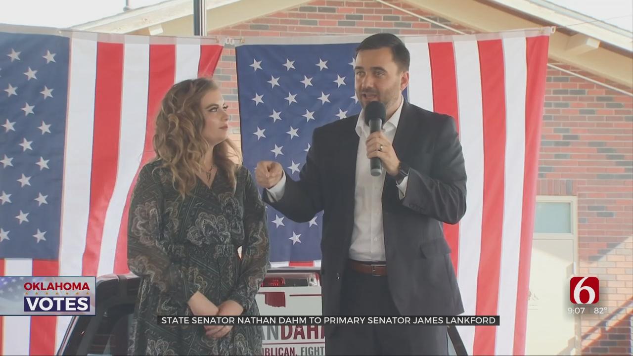 Broken Arrow State Senator Nathan Dahm To Primary Senator James Lankford