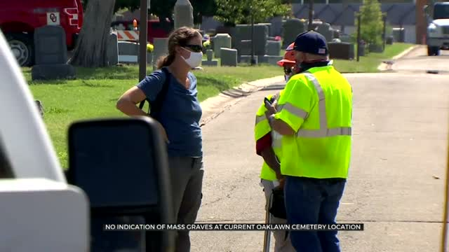 Researchers Say No Mass Graves Found At Oaklawn, Discuss Next Steps In Search